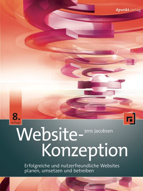Cover: Website-Konzeption